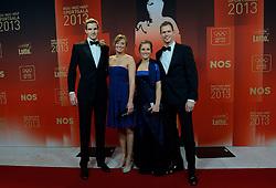 17-12-2013 ALGEMEEN: SPORTGALA NOC NSF 2013: AMSTERDAM<br /> In de Amsterdamse RAI vindt het traditionele NOC NSF Sportgala weer plaats. Op deze avond zullen de sportprijzen voor beste sportman, sportvrouw, gehandicapte sporter, talent, ploeg en trainer worden uitgereikt / Robert Meeuwsen, Juliette Mol, Hanneke van Wijngaarden en Alexander Brouwer<br /> ©2013-FotoHoogendoorn.nl