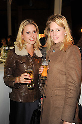 The COUNTESS OF HADDO and RACHEL PERRY at the Launch of Peroni Nastro Azzurro Accademia del Film Wrap Party Tour held atThe Boiler House, 152 Brick Lane, London E1 on 25th August 2010.