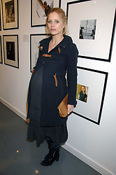 LAURA BAILEY at an exhibition of photographs commissioned by children's charity Barnardo's held at the Getty Images gallery, Eastcastle Street, London on 24th April 2008.<br />