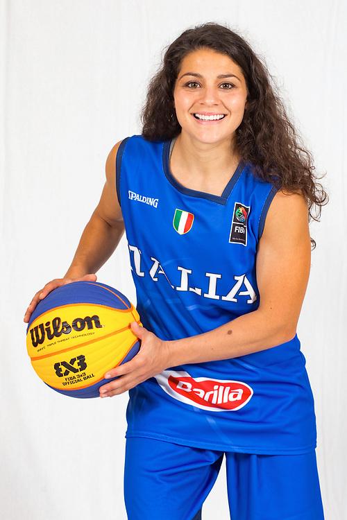 D alie Raelin Marie<br /> Nazionale Femminile Open 3x3<br /> Roma 01/06/2018<br /> Foto Ciamillo - Castoria