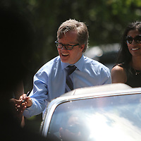 Hall of Fame inductee Freddie Roach during the 23rd Annual Induction citywide parade at the International Boxing Hall of Fame on Sunday, June 10, 2012 in Canastota, NY. (AP Photo/Alex Menendez)