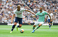 Football - 2019 (ICC) International Champions Cup (pre-season friendly) - Tottenham Hotspur vs. Inter Milan<br /> <br /> Tottenham Hotspur's Harry Kane in action during this afternoon's game, at Tottenham Hotspur Stadium.<br /> <br /> COLORSPORT/ASHLEY WESTERN