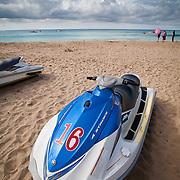 Jetski for rent on Nanwan Beach, Kenting, Pingtung County, Taiwan