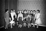14/02/1963<br /> 02/14/1963<br /> 14 February 1963<br /> Annual Dinner of the Irish Institute of Secretaries at Jury's Hotel, Dublin.  A group of ladies pictured before the dinner (l-R): Mrs E. Kearney; Mrs D. Moran; Mrs B. Kennedy; Miss Bradley; Mrs M. Purcell; Mrs W. Kinsella; Mrs M. Larkin; Mrs A. O'Scolai; Miss E. Hannon; Mrs C. Carroll; Miss Carroll and Miss L. Ward.
