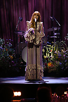 Florence + The Machine performing close up