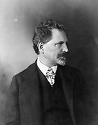 Alphonse Marie Mucha, 1860-1939. Photograph of the French graphic artist 1906