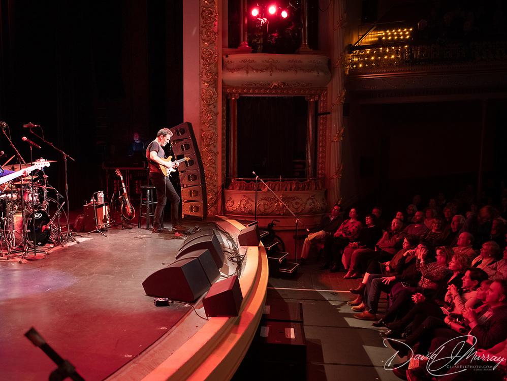Taken at the Chris Botti show at The Music Hall in Portsmouth, NH. April 2019. Personnel: Chris Botti: Trumpet; Delaney Harter: Violin; Reggie Hamilton: Bass; Eldar Djangirov: Keyboards; Shayna Steele: Vocals; Leonardo Amuedo: Guitar; Lee Pearson: Drums; <br /> Andy Snitzer: Tenor Sax