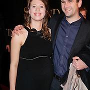 NLD/Amsterdam/20120115 - Premiere Suskind, Maud Dolsma en partner