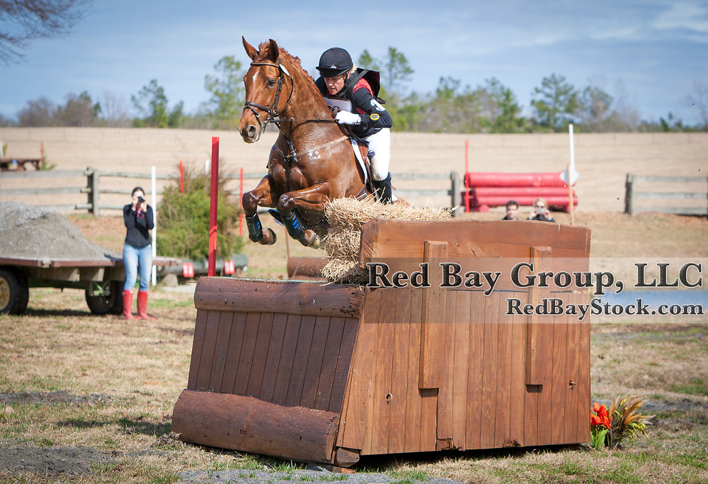 Momo Laframboise and Dejavu at the 2014 Pine Top Farm Advanced Horse Trials in Thomson, Georgia.