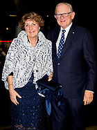 19-1-2018 APELDOORN - Celebration of the 75 birthday of Princess Margriet with Pieter van Vollenhoven,princess Beatrix  . Prince Constantijn, Princess  Laurentien, Princess Annemarie princess Irene , Tjalling ten Cate, Prince Maurits, Princess Marilene, Anna, Lucas en Felicia van Vollenhoven,  Prince Bernhard, Princess Annette, Isabella, Samuel en Benjamin van Vollenhoven, Prince Pieter-Christiaan, Princess Anita, Emma van Vollenhoven, Prince Floris en Princess Aimee  COPYRIGHT ROBIN UTRECHT