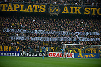 2019-09-01 | Solna, Sweden: during the game between AIK and Djurgårdens IF at Friends Arena ( Photo by: Simon Holmgren | Swe Press Photo )<br /> <br /> Keywords: Friends Arena, Solna, Soccer, Allsvenskan, AIK, Djurgårdens IF