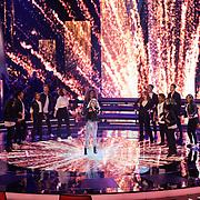 NLD/Hilversum/20190201- TVOH 2019 1e liveshow, optreden Patricia van Haastrecht