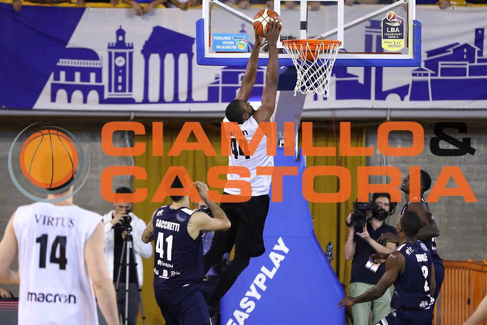 Slaughter Marcus, Germani Basket Brescia vs Virtus Segafredo Bologna, 2 edizione Trofeo Roberto Ferrari, Finale 3-4 posto, PalaGeorge di Montichiari 23 settembre 2017