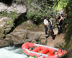Rotorua-Injured woman airlifted from Okere Falls