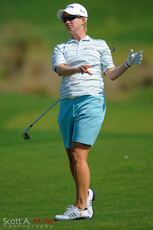 Karrie Webb in action during the second round of the Ginn Open at Reunion Resort on April 18, 2008 in Reunion, Florida...©2008 Scott A. Miller