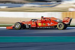 February 19, 2019 - Barcelona, Spain - Charles Leclerc during F1 test celebrated at Circuit of Barcelona 19th February 2019 in Barcelona, Spain. (Credit Image: © Urbanandsport/NurPhoto via ZUMA Press)