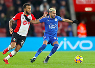 Southampton v Leicester City - 13 Dec 2017