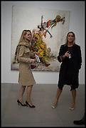 ALEXANDRA RUBIN; MONICA COLUSSI, Jonas Burgert, Stuck Hirn Blind, PV. Blain Southern. Hanover Sq. London. 13 October 2014.