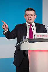 """© Licensed to London News Pictures . 01/03/2014 . London , UK . JON ASHWORTH , MP for Leicester South . The Labour Party hold a one day """" Special Conference """" at the Excel Centre in London today (Saturday 1st March 2014) . Photo credit : Joel Goodman/LNP"""