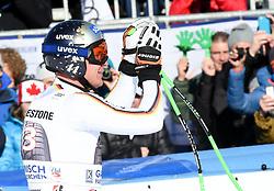 27.01.2018, Kandahar, Garmisch, GER, FIS Weltcup Ski Alpin, Garmisch, Abfahrt, Herren, im Bild Thomas Dressen (GER) // Thomas Dressen of Germany reacts after his run of men's downhill of FIS Ski Alpine World Cup at the Kandahar in Garmisch, Germany on 2018/01/27. EXPA Pictures © 2018, PhotoCredit: EXPA/ Erich Spiess