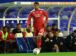 Dennon Lewis of Crawley Town - Mandatory by-line: Paul Roberts/JMP - 08/08/2017 - FOOTBALL - St Andrew's Stadium - Birmingham, England - Birmingham City v Crawley Town - Carabao Cup