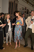 LARA CAZALET; JACQUETTA WHEELER, Royal Academy Summer exhibition party. Piccadilly. 7 June 2016