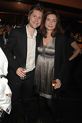CHRISTOPHER BAILEY and NATALIE MASSENET Founder of Net-a-porter.com at the launch of the 4th Fashion Fringe - a search to recruit the hottest, undiscovered fashion desugn talent in the UK and Ireland, held at The Bar at The Dorchester, Park Lane, London on 13th March 2007.<br /><br />NON EXCLUSIVE - WORLD RIGHTS