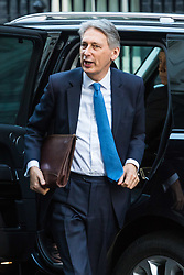 London, January 16 2018. The Chancellor of The Exchequer Philip Hammond attends the UK cabinet meeting at Downing Street. © Paul Davey