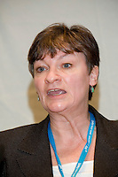 Christine Blower, Deputy General Secretary NUT, speaking at the TUC Womens Conference 2007...© Martin Jenkinson, tel 0114 258 6808 mobile 07831 189363 email martin@pressphotos.co.uk. Copyright Designs & Patents Act 1988, moral rights asserted credit required. No part of this photo to be stored, reproduced, manipulated or transmitted to third parties by any means without prior written permission