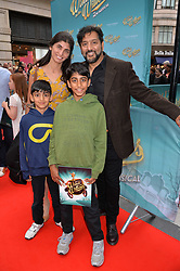 Nitin Ganatra and Meera Thakrar arriving at The opening night of Wind in The Willows at the London Palladium, Argyll Street, London England. 29 June 2017.<br /> Photo by Dominic O'Neill/SilverHub 0203 174 1069 sales@silverhubmedia.com