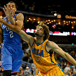 11-16-2012 Oklahoma City Thunder at New Orleans Hornets