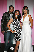 l to r: D-Ray, Michelle Murray, and Lisa Raye at the Celebrity Catwalk co-sponsored by Alize held at The Highlands Club on August 28, 2008 in Los Angeles, California..Celebrity Catwork for Charity, a fashion show/lifestyle event, raises funds & awareness for National Animal Rescue.