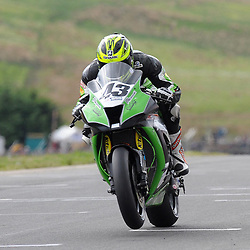 British Superbikes, Knockhill, 16-06-2013<br /> <br /> MH Kawasaki Howie Mainwaring<br /> <br /> (c) David Wardle | StockPix.eu