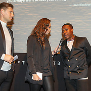 NLD/Amsterdam/20151110 - Life After Football Award 2015, Gwen van poorten en Evgeniy Levchenko en Regi Blinker