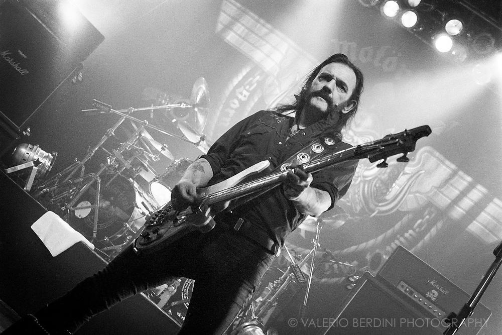 Lemmy of Motörhead live at the Cambridge Corn Exchange on 20 November 2005