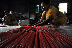 OCT 23 2013 Candle Factory in India