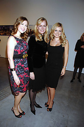 Left to right, singer HAYLEY WESTENRA, LOUISE BLOUIN MACBAIN and singer KATHERINE JENKINS at the Montblanc de la Culture Arts Patronage Award 2008 presented to Louise Blouin MacBain at the Louise Blouin MacBain Institute, 3 Olaf Street, London W11 on 16th April 2008.<br /><br />NON EXCLUSIVE - WORLD RIGHTS