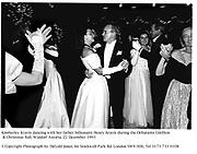 Kimberley Kravis dancing with her father billionaire Henry Kravis during the Debutante Cotillion & Christmas Ball. Waldorf Astoria. 22 December 1993<br />© Copyright Photograph by Dafydd Jones. 66 Stockwell Park Rd. London SW9 0DA. Tel 0171 733 0108