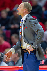 NORMAL, IL - February 16:  Dan Muller during a college basketball game between the ISU Redbirds and the Bradley Braves on February 16 2019 at Redbird Arena in Normal, IL. (Photo by Alan Look)