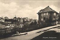 Zagreb : Josipovac. <br /> <br /> ImpresumZagreb : Naklada Rudolf Polaček, [1935].<br /> Materijalni opis1 razglednica : tisak ; 8,9 x 13,8 cm.<br /> NakladnikRudolf Polaček<br /> Mjesto izdavanjaZagreb<br /> Vrstavizualna građa • razglednice<br /> ZbirkaGrafička zbirka NSK • Zbirka razglednica<br /> Formatimage/jpeg<br /> PredmetZagreb –– Ulica Ivana Gorana Kovačića<br /> SignaturaRZG-IGK-3<br /> Obuhvat(vremenski)20. stoljeće<br /> NapomenaRazglednica je putovala 1935. godine. • Josipovac je predjel onodobnog Zagreba koji obuhvaća današnji sjeverozapadni dio Nazorove ulice te sjeveroistočni dio Ul. Ivana Gorana Kovačića.<br /> PravaJavno dobro<br /> Identifikatori000954908<br /> NBN.HRNBN: urn:nbn:hr:238:559325 <br /> <br /> Izvor: Digitalne zbirke Nacionalne i sveučilišne knjižnice u Zagrebu