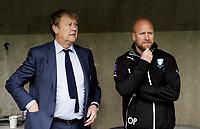 Fotball , 140412 trener Åge Hareide Malmö FFs   og ass. trener Olof Persson under den allsvenska fotbollsmatchen mellan Malmø FF och Gefle den 12 april 2014<br /> <br /> Norway only