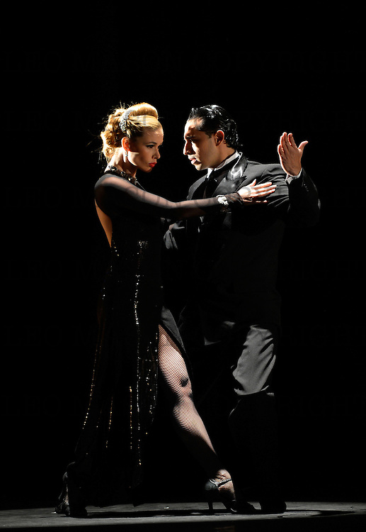 30.01.2013 Flames of Desire danced by The Tango Fire Company at Sadlers Wells London UK<br /> Gallo Ciego: Marcos Roberts &amp; Louise Malucelli