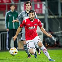 ALKMAAR - 26-11-15, Europa League, AZ  - FK Partizan, AFAS Stadion, AZ speler Alireza Jahanbakhsh.