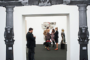 OPENING OF FRIEZE ART FAIR. Regent's Park. London.  12 October 2011. <br /> <br />  , -DO NOT ARCHIVE-© Copyright Photograph by Dafydd Jones. 248 Clapham Rd. London SW9 0PZ. Tel 0207 820 0771. www.dafjones.com.