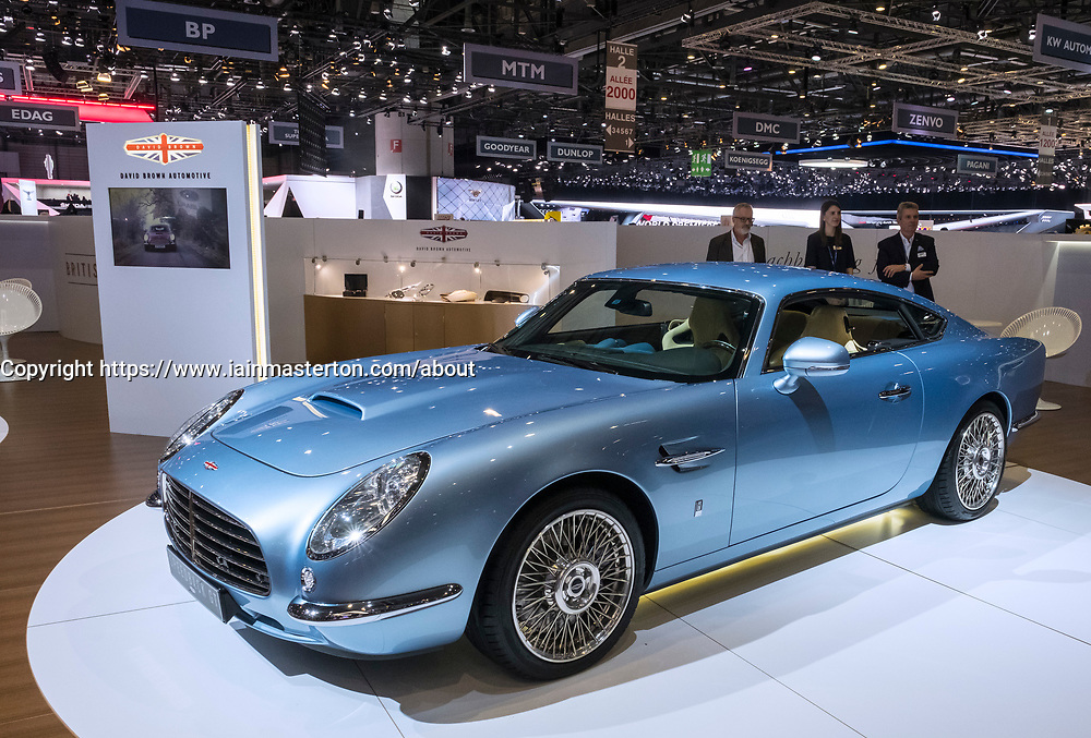 David Brown Speedback GT at 87th Geneva International Motor Show in Geneva Switzerland 2017