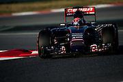 February 19-22, 2015: Formula 1 Pre-season testing Barcelona : Max Verstappen, Scuderia Torro Rosso