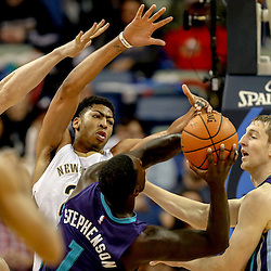 11-04-2014 Charlotte Hornets at New Orleans Pelicans