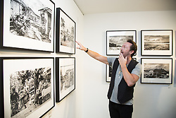September 16, 2016 - Hollywood, California, U.S. - Julian Lennon is photographed at The Leica Gallery Los Angeles. He is interviewed about his ''Cycle'' colection of photography and his many interests in music and philanthropy. The collection focuses on those who live on the borders of the South China Sea. Lennon used a Leica V-LUX camera. (Credit Image: © Armando Gallo/Arga Images via ZUMA Studio)