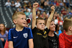 September 19, 2017 - Cincinnati, OH, USA - Cincinnati, OH - Tuesday September 19, 2017: USA supporters during an International friendly match between the women's National teams of the United States (USA) and New Zealand (NZL) at Nippert Stadium. (Credit Image: © Brad Smith/ISIPhotos via ZUMA Wire)