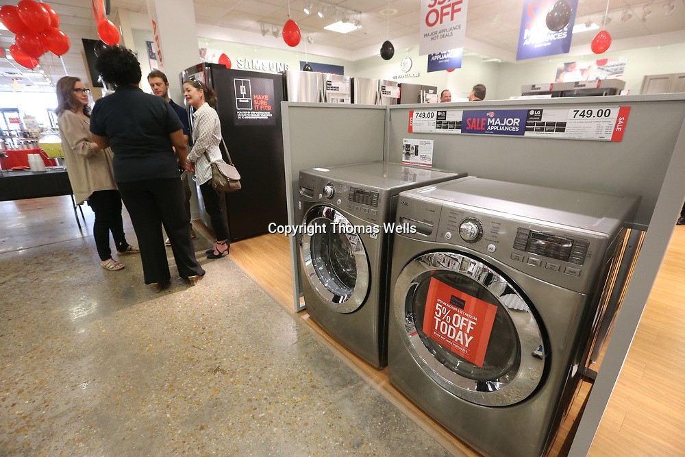The JCPenny store lcoated at The Mall at Barnes Crossing unveiled its new appliance section which makes the store one of 100 stores store nationwide to be receiving the appliance department this year.